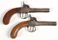 Lot 1075 - An early 19th Century percussion pistol, with...
