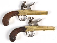Lot 1077 - A pair of late 18th/early 19th Century...