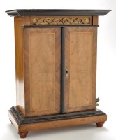 Lot 1103 - A 19th Century table top upright symphonium,...