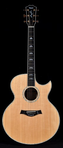 Lot 1116-Taylor electro-acoustic guitar, custom JU...