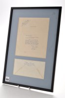 Lot 1126 - Bing Crosby (1903-1977), a signed typed letter...