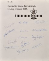 Lot 1134 - The Newcastle United Football Club F.A....