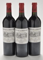 Lot 1137 - Six bottles of Chateau d' Angludet Margaux,...