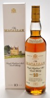 Lot 1140 - A bottle of Macallan 10 year old single...