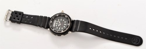 Lot 1158-James Bond prop watch: a Seiko H558-5000 model...