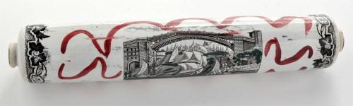 Lot 856-A 19th Century Sunderland lustre earthenware...
