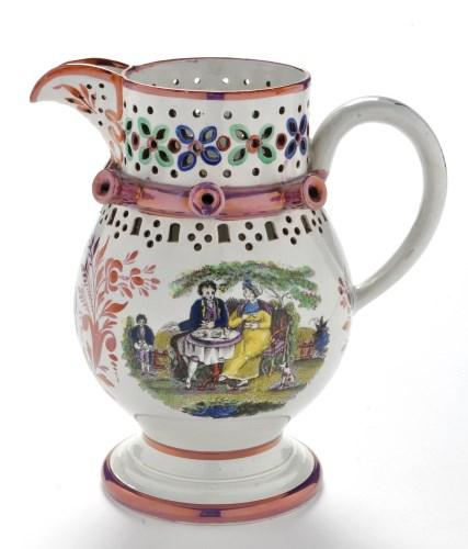 Lot 920 - A fine 19th Century Sunderland lustre puzzle...