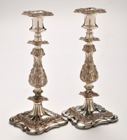Lot 1025 - A pair of EP mid 19th Century Old Sheffield...