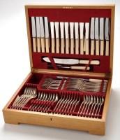 Lot 1061 - An Elizabeth II flatware and cutlery service,...