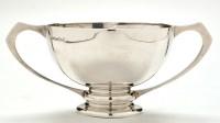 Lot 1068 - A George V two-handled bowl, maker's mark...