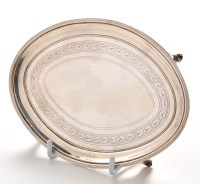 Lot 1091 - A George III teapot stand, by Henry Nutting,...