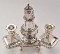 Lot 1122 - A Victorian sugar caster, by Charles Stuart...
