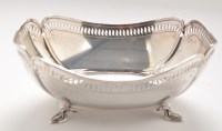 Lot 1123 - A George V bread dish, by Atkin Brothers,...