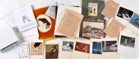 Lot 187-Andrew Lanyon A collection of ephemera and...