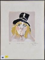 Lot 197-*Hubert Pattison ''Female Clown'' signed,...