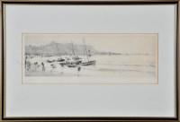 Lot 41 - William Lionel Wyllie (1851-1931) Cobles...