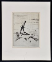 Lot 46 - Norman Wilkinson (1878-1971) ''The Gillie on...