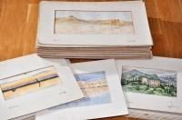 Lot 48 - 19th Century British School Sites of ancient...