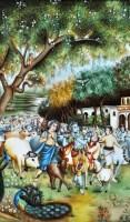 Lot 51 - 19th Century Indian School ''Shiva leading a...
