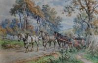 Lot 52 - Henry ''Harry'' O*** Richardson (1863-1934) A...