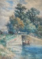 Lot 57 - Henry ''Harry'' O*** Richardson (1863-1934) A...