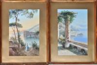 Lot 61 - M*** Gianni (Italian 19th Century) Views of...