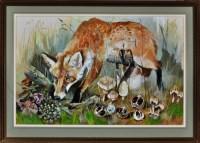 Lot 67 - Sheila Gertrude Mackie (1928-2010) A fox...
