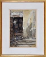 Lot 84 - George Edward Horton (1859-1950) A street...