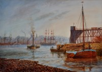 Lot 89 - Bernard Benedict Hemy (1845-1913) ''White Hill...