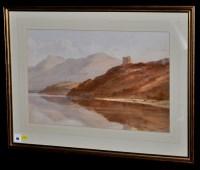 Lot 90 - Edward Arden (Tucker) (1846-1909) ''Dolbadarn...