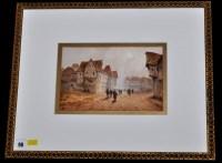 Lot 98 - **** Louis Thomas (19th Century) Figures in...