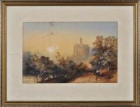 Lot 107 - James Burrell Smith (1824-1897) ''Warkworth...