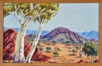 Lot 122 - Oscar Namatjira (Australian 1922- ) ''Near...