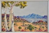 Lot 123 - Oscar Namatjira (Australian 1922- ) A...