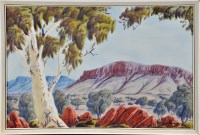 Lot 124 - Keith Namatjira (Australian 1938-1977) ''Mount...