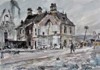 Lot 125 - Albert Henry Herbert (1914-1982) ''Dock Road:...