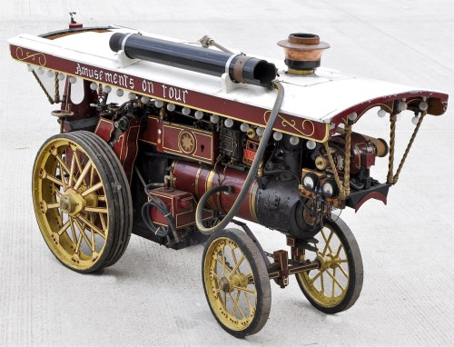 Lot 764-A large Clayton & Shuttleworth live-steam...