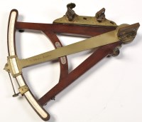 Lot 770-A mid 18th Century mahogany and brass mounted...