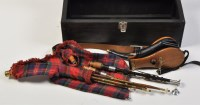 Lot 788 - A 20th Century set of Northumbrian small pipes,...