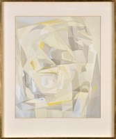 Lot 180-Barbara ''Babs'' Redpath (b.1924-) ''FORMS IN...
