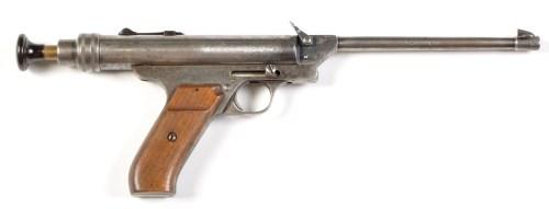 Lot 1052-A Brown O.H. .22cal. Pneumatic pistol, no. 174...