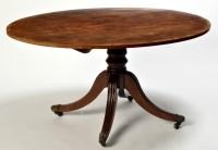 Lot 1231-A Regency mahogany tip-up-top breakfast table,...