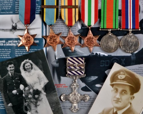 Lot 982-An important group of Second World War medals,...