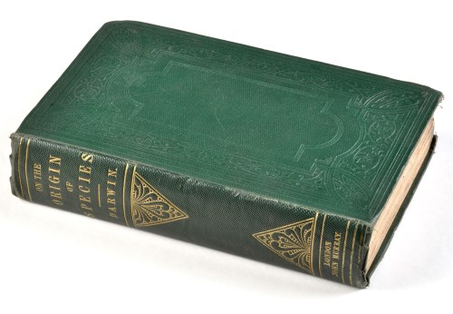 Lot 232-Darwin (Charles) On the Origin of Species by...