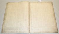 Lot 334-Original early 19th Century tax manuscript...