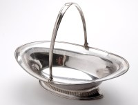Lot 600 - A 19th Century old Sheffield plated oval cake...