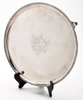 Lot 641 - A George III salver, by Peter and Ann Bateman,...