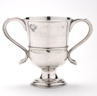 Lot 660 - A George III two-handled loving cup, by John...