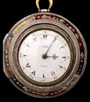 Lot 714-A Georgian triple cased pocket watch,...