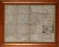 Lot 11 - Emanuel Bowen (1693/4-1767) ''AN ACCURATE MAP...